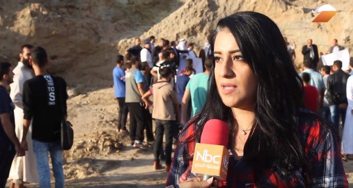 """وقفة احتجاجية ضد تخريب """"تل السكن"""" الأثري (فيديو)"""