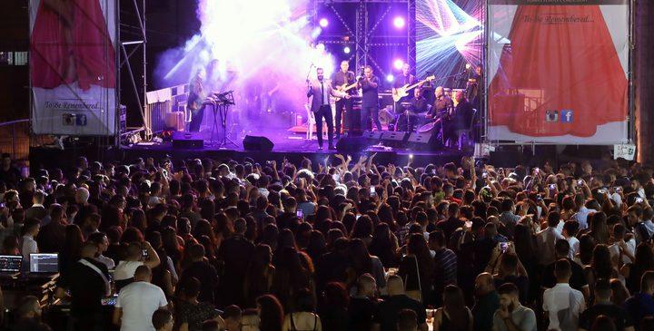 طوني قطان يحيي حفلاً في فلسطين بحضور جماهيري