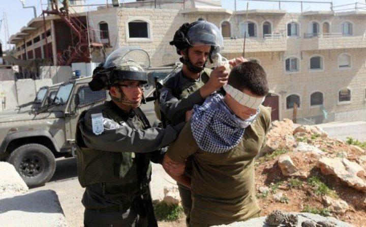 اعتقال 12 مواطنا في رام الله وجنين(محدث)