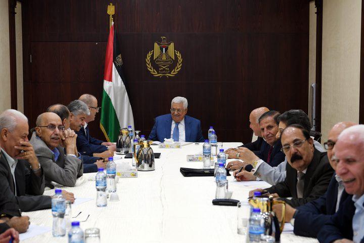 """""""التنفيذية"""" تؤكد دعمها لنتائج اجتماع وفدي """"فتح"""" و""""حماس"""" في القاهرة"""