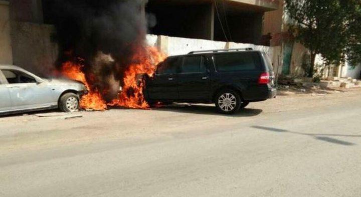 الشرطة تكشف ملابسات حرق مركبة في نابلس
