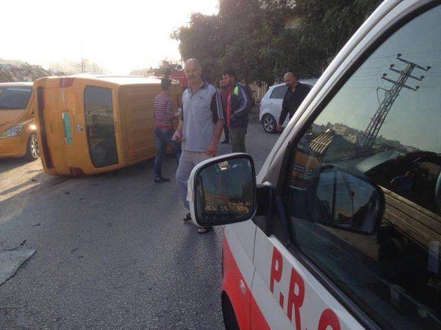 حادث سير في شارع الحسبة (صور)