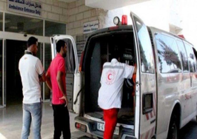 إصابة مواطنة بحادث دهس في نابلس