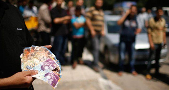 رواتب غزة الخميس القادم