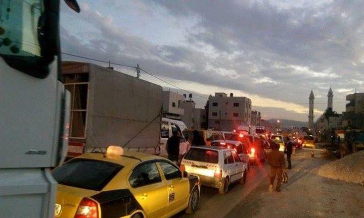 الاحتلال يغلق حاجز حوارة في هذا الموعد!