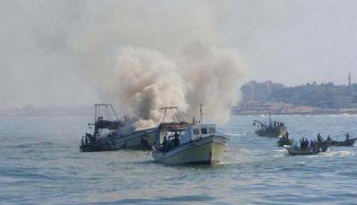 الاحتلال يستهدف الصيادين