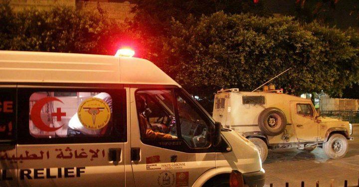إصابتان بالرصاص المطاطي في نابلس