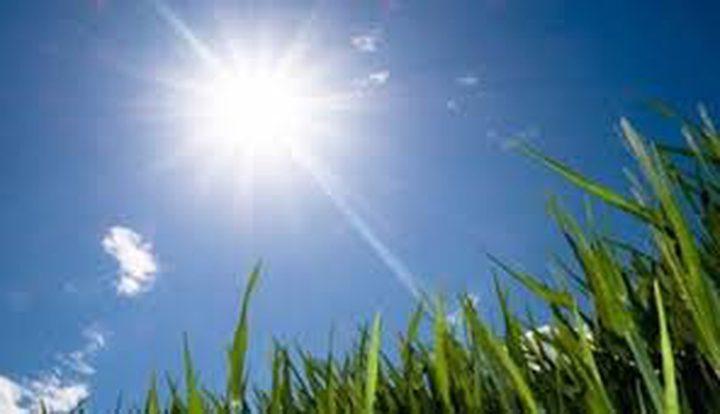 الطقس: أجواء صافية وأرتفاع على الحرارة