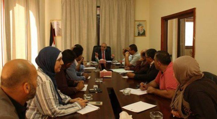 الوزير طبيلة الى غزة لاستلام المهام
