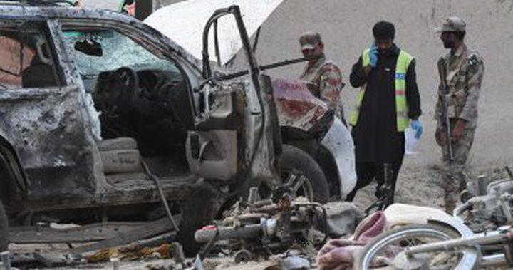 قتلى وجرحى جراء تفجير في باكستان