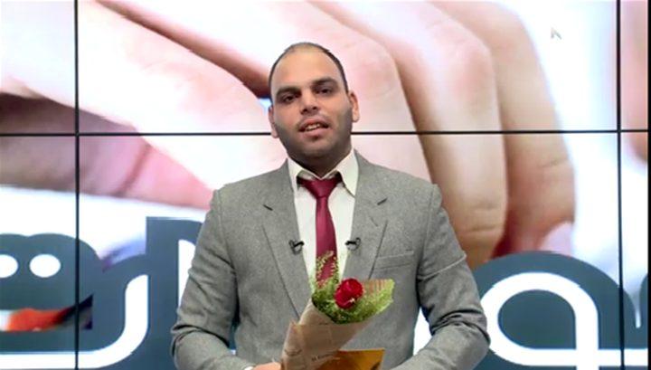 شاهد ما قام به مذيع فلسطيني ليشكر وفد البرلمان الكويتي