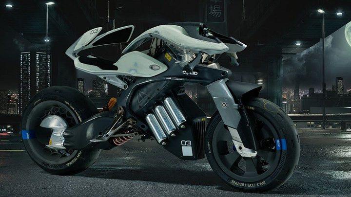 ياماها تطرح دراجة ذكية مستقبلية
