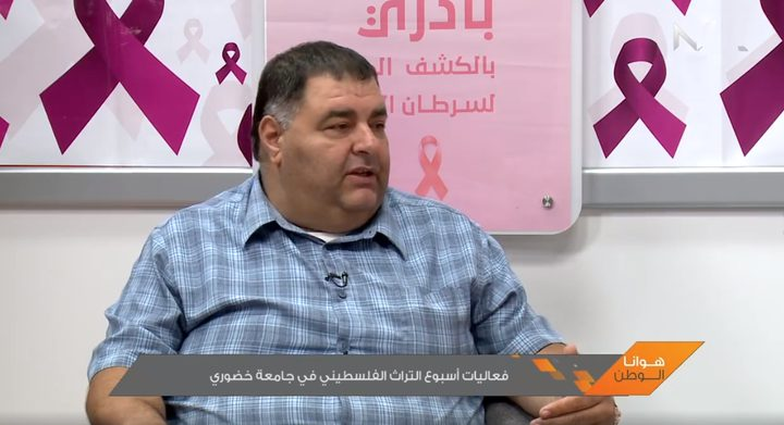 فعاليات أسبوع التراث الفلسطيني في جامعة خضوري