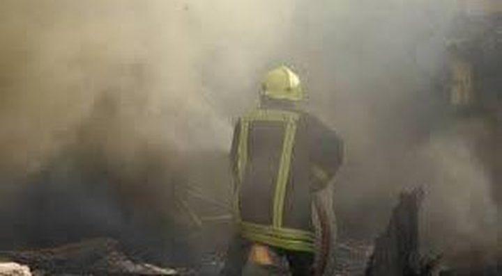 إصابة مواطن إثر اخماده حريق منزل في جنين