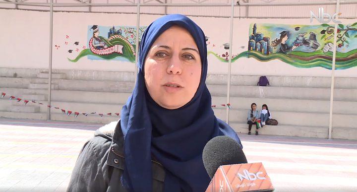 مقابلة مع معلمة الطالبة عفاف الشريف (فيديو)