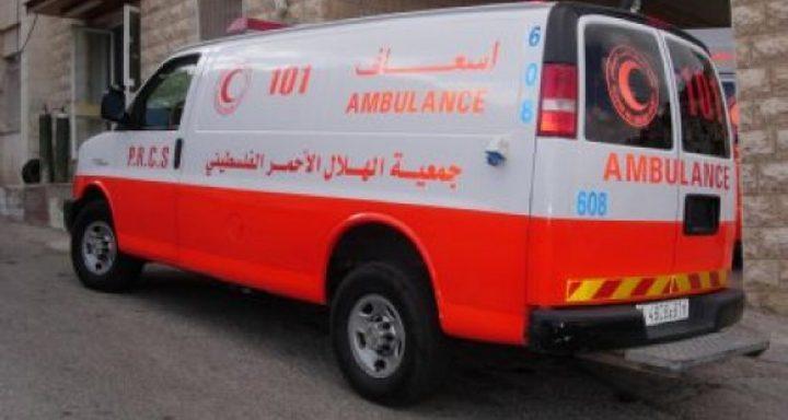 إصابة مواطن جراء حادث دهس في نابلس