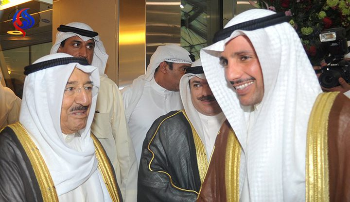 بماذا رد أمير الكويت على الغانم؟
