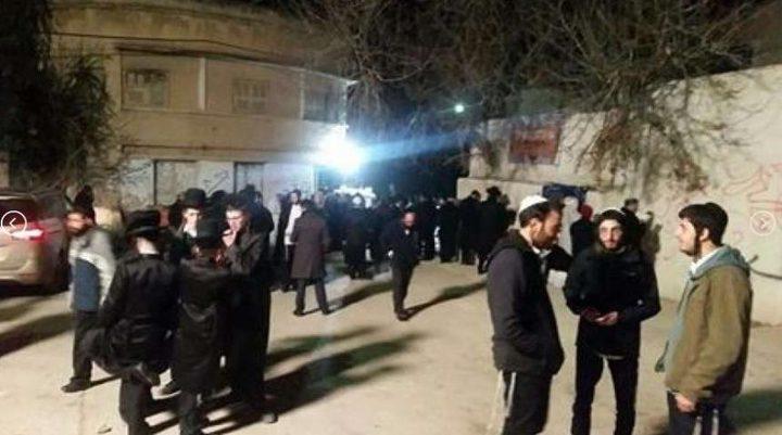 1500 مستوطن اقتحموا مقامات كفل حارس