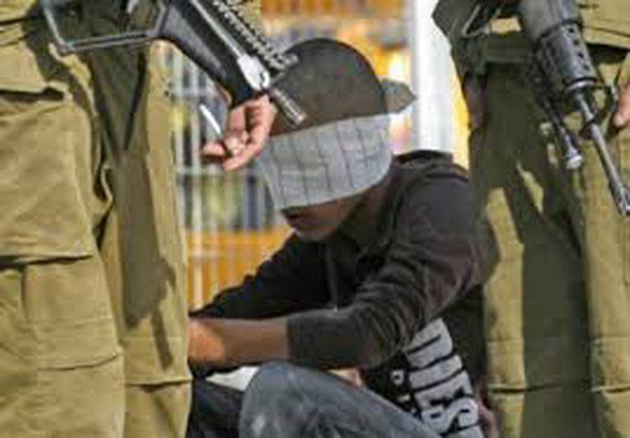 اعتقال فتى خلال مواجهات في جيوس شرق قلقيلية