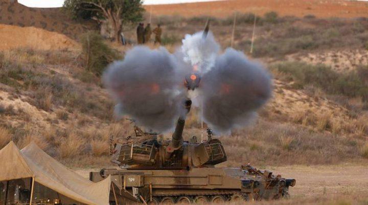 الاحتلال يقصف ثلاثة مواقع مدفعية للجيش السوري