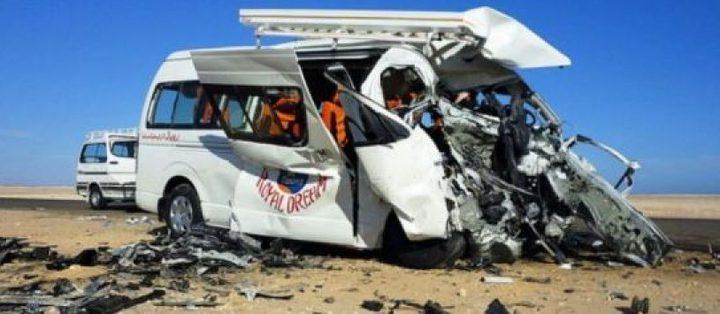 قتلى وجرحى في حادث سير جنوب مصر