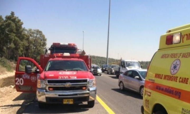 اصابة حرجة لشاب في حادث طرق بحيفا