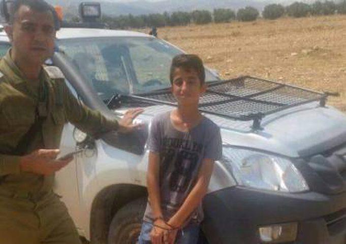 اعتقال فتى بزعم حيازته سكين