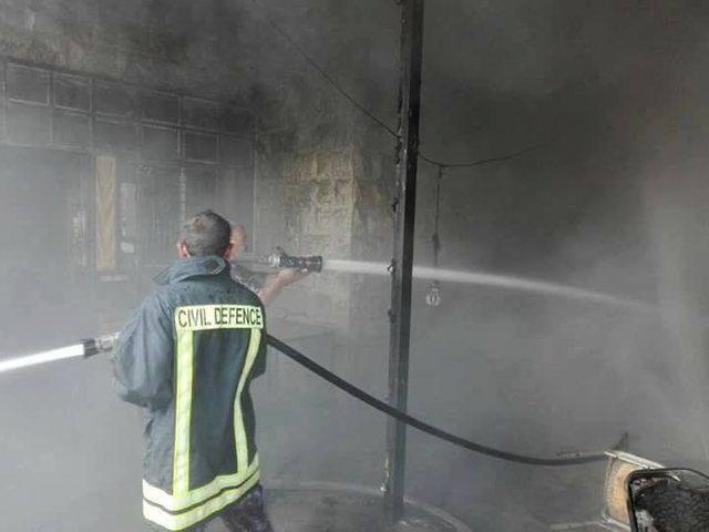 265 حادث إطفاء وإنقاذ خلال أسبوع