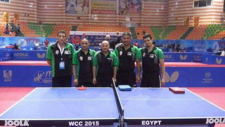 أهلي الخليل يتغلب على المفرق الأردني ببطولة غرب آسيا لكرة الطاولة