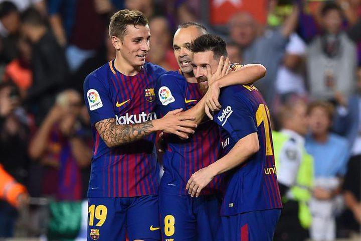 برشلونة يعزز صدارته للدوري الإسباني بتغلبه على ملقة