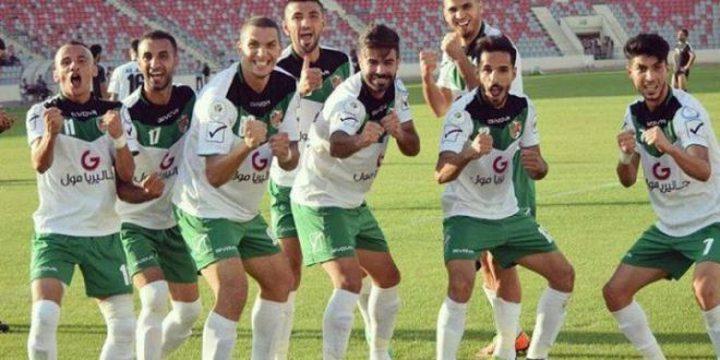 الدوري الأردني يجتاز حاجز ال100 هدف