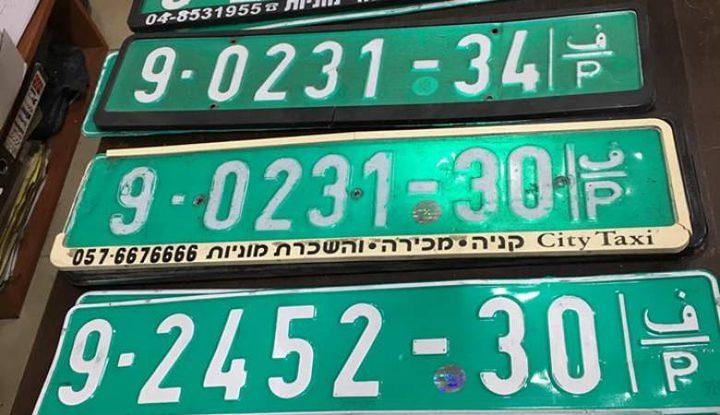 ضبط 6 مركبات عمومية منتهية الترخيص بمحافظة الخليل