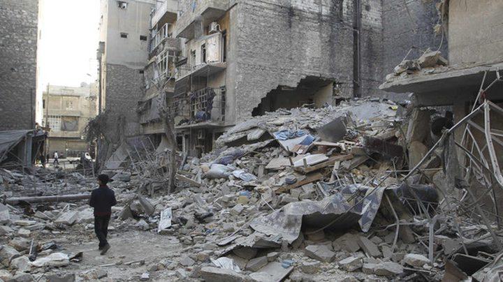 12 قتيلاً في قصف إسرائيلي جنوبي سوريا