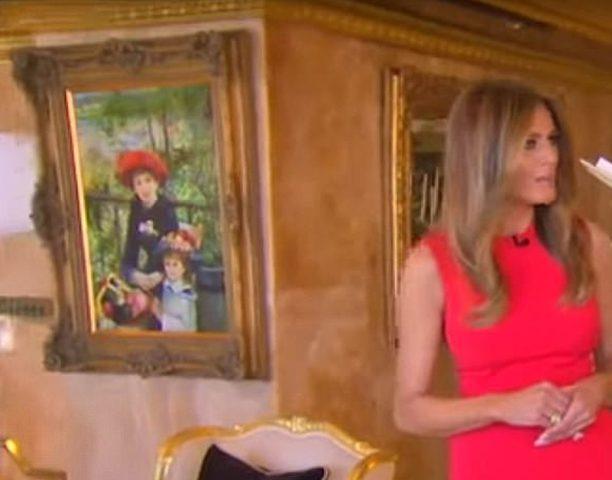 لوحة ترامب تثير جدلاً بعدم وجودها في معهد للفنون