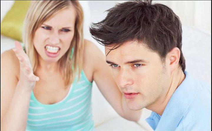 النكد الزوجي مؤذ للصحة وخاصة للرجال