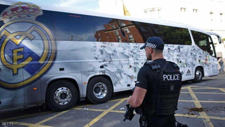ريال مدريد محروم من استخدام حافلته الرسمية في كتالونيا