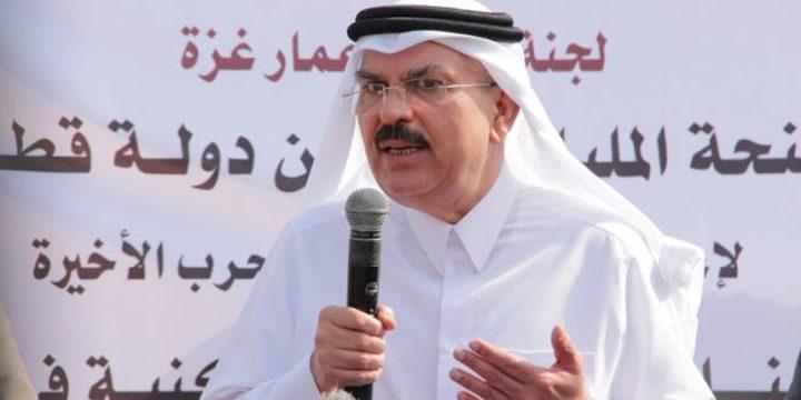 ندعم حكومة الوفاق .. العمادي: قطر وافقت على بناء مقرات الحكومة بغزة بناءً على طلب الرئيس