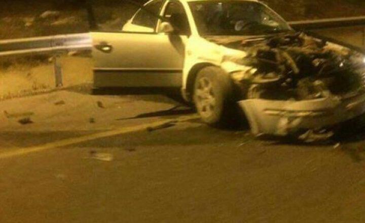 إصابة اربعة مواطنين بحادثي سير منفصلين في نابلس