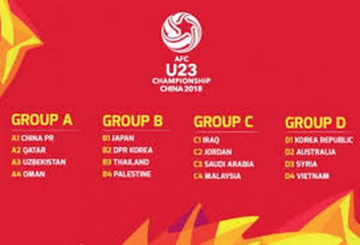الوطني في المجموعة الثانية لأمم أسيا للمنتخبات الأولمبية