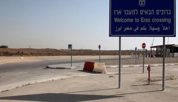 """الاحتلال يعتقل مريضاً على حاجز """"إيرز"""""""