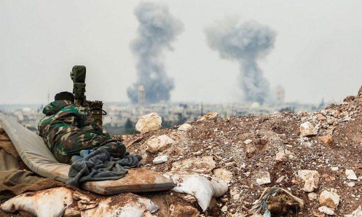 تصاعد الغارات الروسية على ريف حماة الشرقي