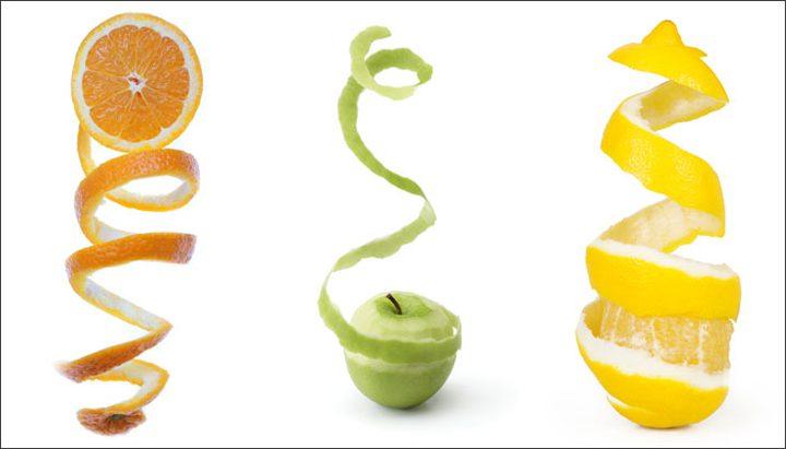 لا ترمي قشر الفاكهة لفوائدها!