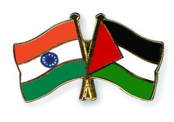 بحث سبل التعاون التجاري والاقتصادي بين فلسطين والهند