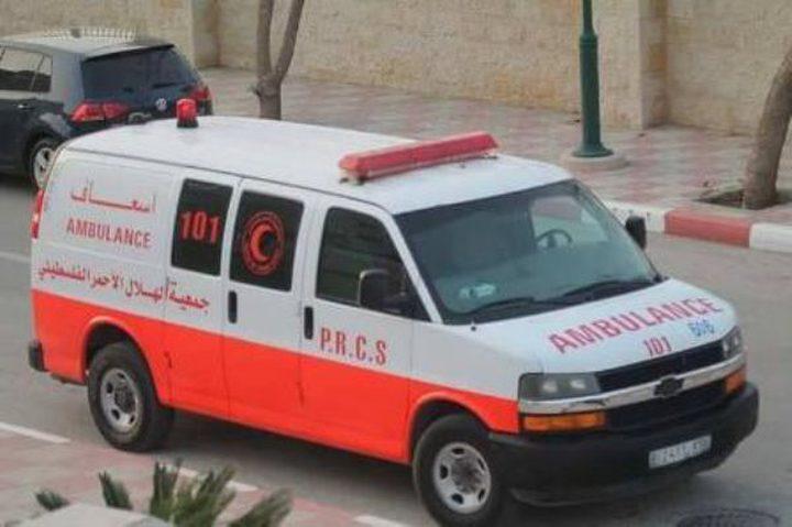 إصابة طفل 8 سنوات إثر حادث سير بنابلس