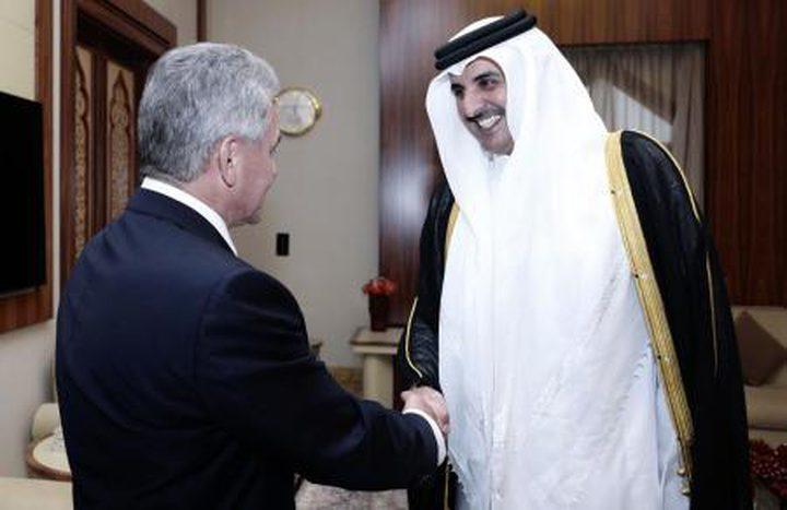 قطر توقع اتفاقاً في مجال الدفاع مع روسيا