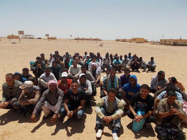 ضبط 43 شخصاً خلال محاولات الهجرة غير الشرعية
