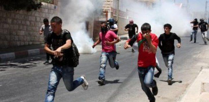 """""""اوتشا"""": اصابة (38) فلسطينيًا بجروح بينهم (24) طفلًا خلال الاسبوعين الماضيين"""