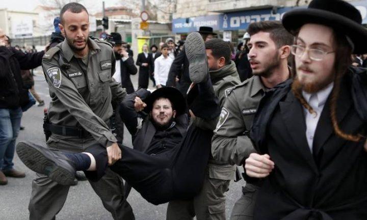 الحريديم يهاجمون العليا الاسرائيلية