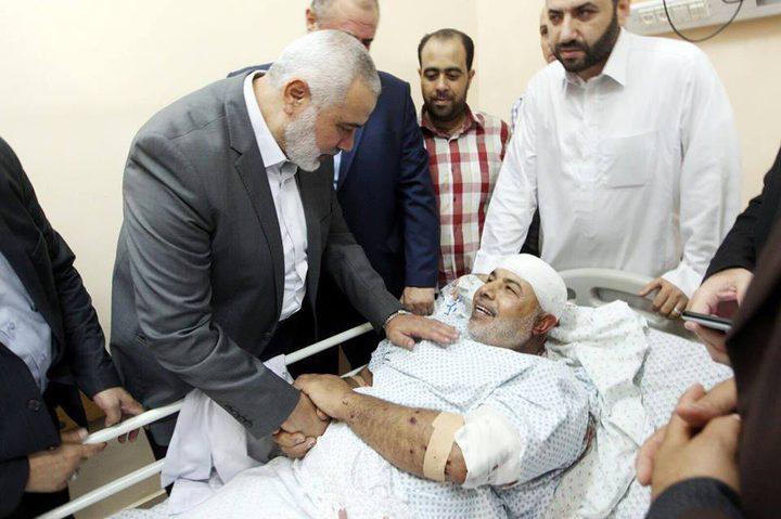 إصابة مسؤول قوى أمن غزة توفيق أبو نعيم في محاولة اغتيال (محدث)