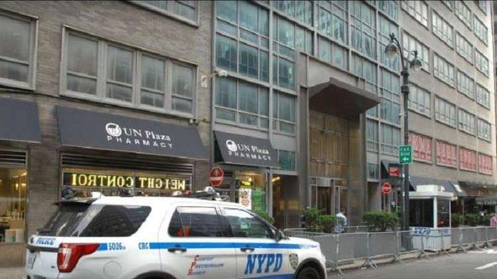 القنصلية الاسرائيلية في نيويورك تغلق أبوابها بسبب طرد مشبوه